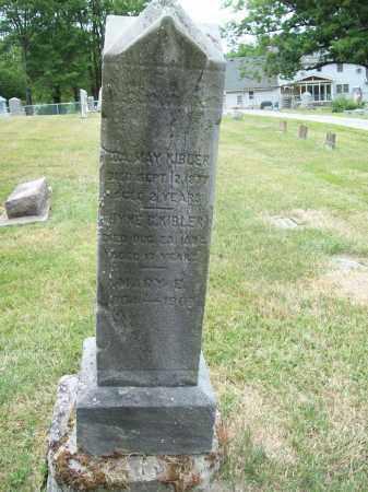 KIBLER, MARY E. - Trumbull County, Ohio | MARY E. KIBLER - Ohio Gravestone Photos