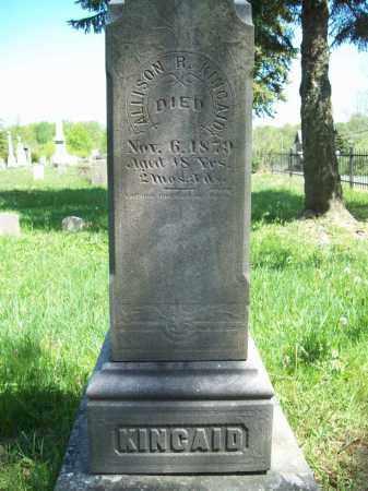 KINCAID, ALLISON R. - Trumbull County, Ohio | ALLISON R. KINCAID - Ohio Gravestone Photos