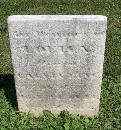 KING, LOUISA - Trumbull County, Ohio | LOUISA KING - Ohio Gravestone Photos