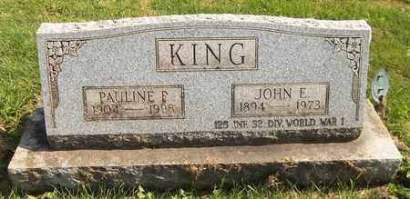 KING, JOHN E. - Trumbull County, Ohio   JOHN E. KING - Ohio Gravestone Photos