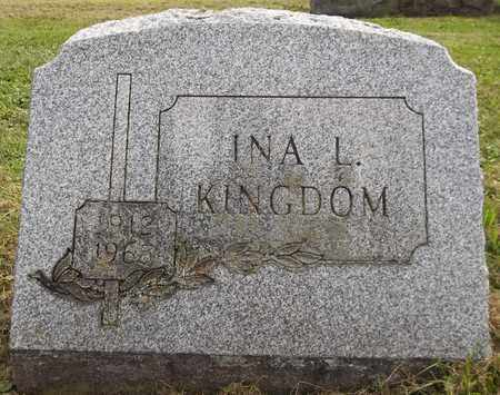 KINGDOM, INA L. - Trumbull County, Ohio   INA L. KINGDOM - Ohio Gravestone Photos