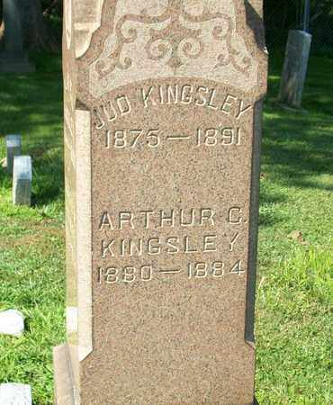KINGSLEY, ARTHUR C. - Trumbull County, Ohio | ARTHUR C. KINGSLEY - Ohio Gravestone Photos