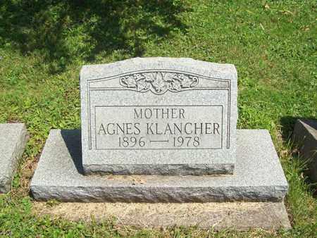 KLANCHER, AGNES - Trumbull County, Ohio | AGNES KLANCHER - Ohio Gravestone Photos