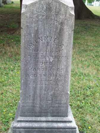 KNIGHTON, MINNIE A. - Trumbull County, Ohio | MINNIE A. KNIGHTON - Ohio Gravestone Photos