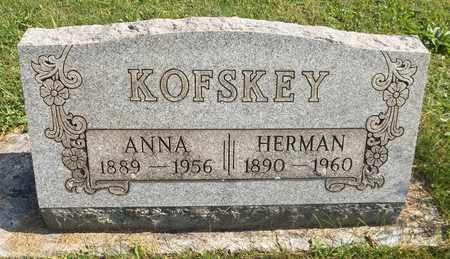 KOFSKEY, ANNA - Trumbull County, Ohio | ANNA KOFSKEY - Ohio Gravestone Photos
