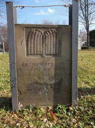 LAKE, INFANT SON - Trumbull County, Ohio | INFANT SON LAKE - Ohio Gravestone Photos