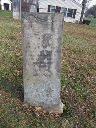 LAKE, WELTHY E. - Trumbull County, Ohio | WELTHY E. LAKE - Ohio Gravestone Photos