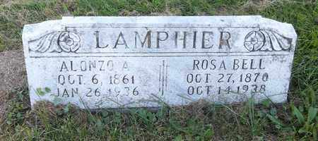 CHAMPLIN LAMPHIER, ROSA BELL - Trumbull County, Ohio | ROSA BELL CHAMPLIN LAMPHIER - Ohio Gravestone Photos