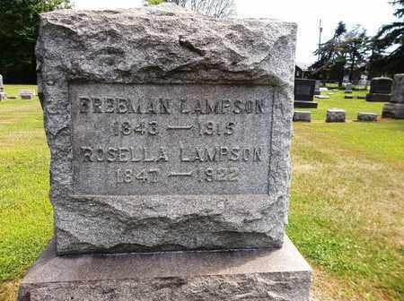 LAMPSON, ROSELLA - Trumbull County, Ohio | ROSELLA LAMPSON - Ohio Gravestone Photos