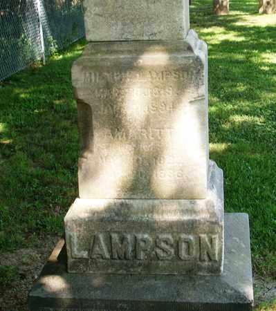 LAMPSON, AMARITT - Trumbull County, Ohio | AMARITT LAMPSON - Ohio Gravestone Photos