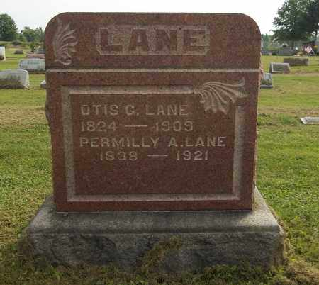 LANE, OTIS G. - Trumbull County, Ohio | OTIS G. LANE - Ohio Gravestone Photos