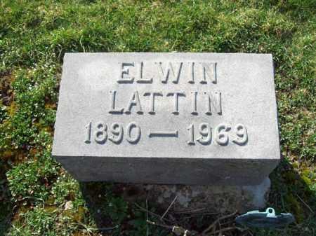 LATTIN, ELWIN - Trumbull County, Ohio   ELWIN LATTIN - Ohio Gravestone Photos