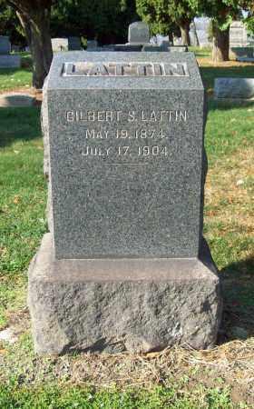 LATTIN, GILBERT S. - Trumbull County, Ohio   GILBERT S. LATTIN - Ohio Gravestone Photos