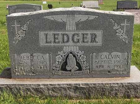 LEDGER, CALVIN - Trumbull County, Ohio | CALVIN LEDGER - Ohio Gravestone Photos