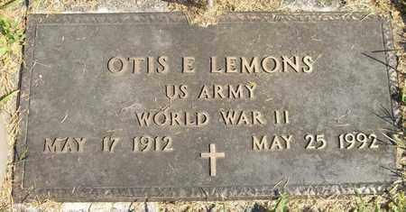 LEMONS, OTIS E. - Trumbull County, Ohio | OTIS E. LEMONS - Ohio Gravestone Photos