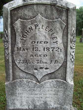 LEPLEY, JOHN PIPER - Trumbull County, Ohio | JOHN PIPER LEPLEY - Ohio Gravestone Photos