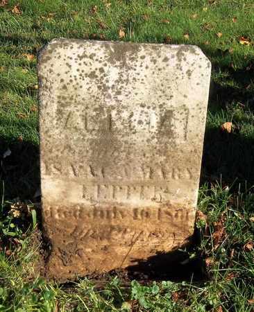 LEPPER, AMELIA - Trumbull County, Ohio   AMELIA LEPPER - Ohio Gravestone Photos