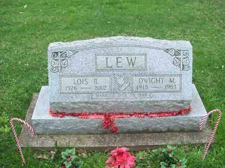 LEW, DWIGHT M. - Trumbull County, Ohio   DWIGHT M. LEW - Ohio Gravestone Photos