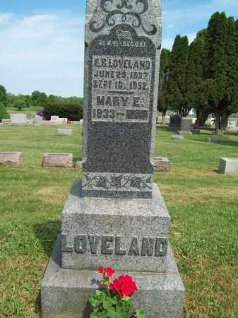 LOVELAND, MARY E. - Trumbull County, Ohio   MARY E. LOVELAND - Ohio Gravestone Photos