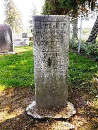LOWREY, RUTH - Trumbull County, Ohio   RUTH LOWREY - Ohio Gravestone Photos