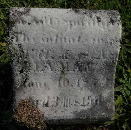 "LYMAN, ""INFANT SON"" - Trumbull County, Ohio 