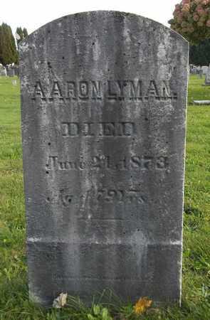 LYMAN, AARON - Trumbull County, Ohio | AARON LYMAN - Ohio Gravestone Photos