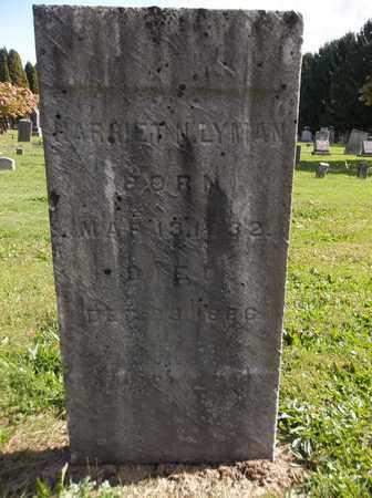 LYMAN, HARRIET N. - Trumbull County, Ohio | HARRIET N. LYMAN - Ohio Gravestone Photos