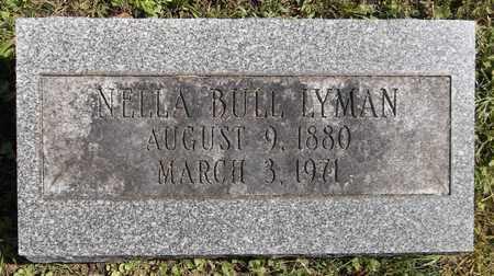 BULL LYMAN, NELLA - Trumbull County, Ohio | NELLA BULL LYMAN - Ohio Gravestone Photos