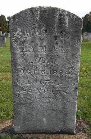 OTIS LYMAN, SOPHRONIA - Trumbull County, Ohio   SOPHRONIA OTIS LYMAN - Ohio Gravestone Photos