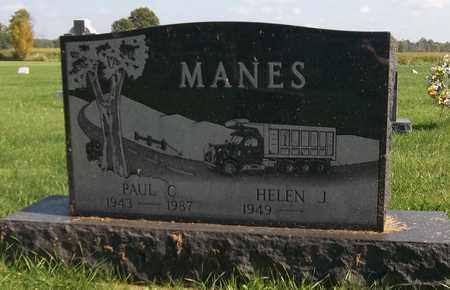 MANES, PAUL C. - Trumbull County, Ohio | PAUL C. MANES - Ohio Gravestone Photos