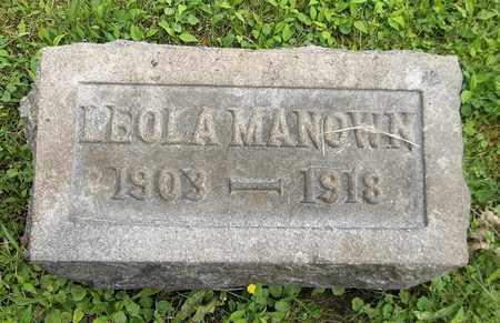 MANOWN, LEOLA - Trumbull County, Ohio | LEOLA MANOWN - Ohio Gravestone Photos