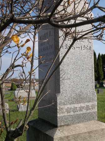 MARLOW, MARY A. - Trumbull County, Ohio | MARY A. MARLOW - Ohio Gravestone Photos
