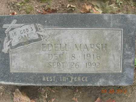 MARSH, EDELL - Trumbull County, Ohio | EDELL MARSH - Ohio Gravestone Photos