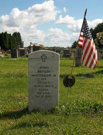 MARSTELLER, JOHN BRYSON, JR. - Trumbull County, Ohio | JOHN BRYSON, JR. MARSTELLER - Ohio Gravestone Photos