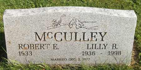 MCCULLEY, ROBERT E. - Trumbull County, Ohio | ROBERT E. MCCULLEY - Ohio Gravestone Photos