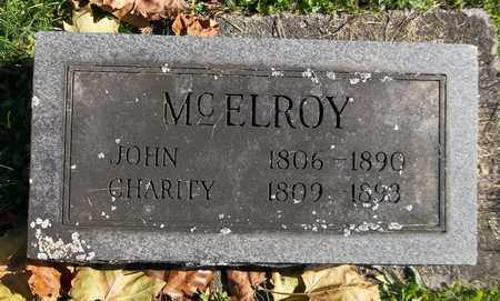 MCELROY, CHARITY - Trumbull County, Ohio | CHARITY MCELROY - Ohio Gravestone Photos