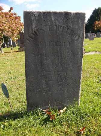 MCELROY, ISABELLA - Trumbull County, Ohio   ISABELLA MCELROY - Ohio Gravestone Photos