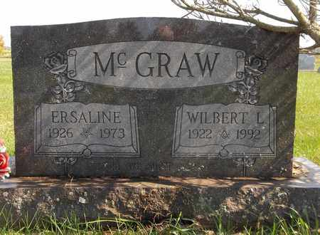 MCGRAW, ERSALINE - Trumbull County, Ohio | ERSALINE MCGRAW - Ohio Gravestone Photos