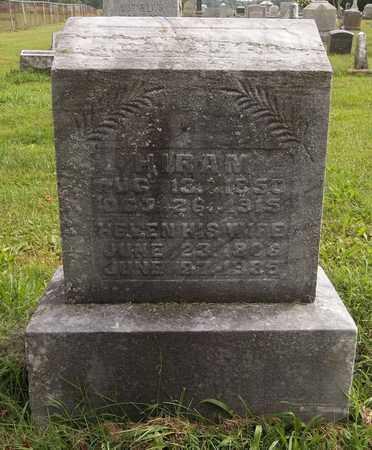 MCMAHAN, HIRAM - Trumbull County, Ohio | HIRAM MCMAHAN - Ohio Gravestone Photos