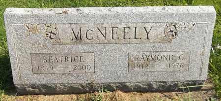 MCNEELY, BEATRICE - Trumbull County, Ohio | BEATRICE MCNEELY - Ohio Gravestone Photos