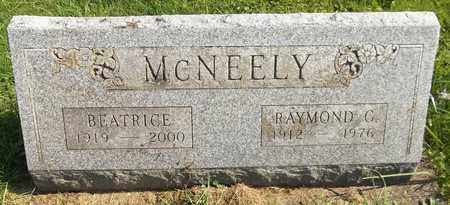 MCNEELY, RAYMOND G. - Trumbull County, Ohio | RAYMOND G. MCNEELY - Ohio Gravestone Photos