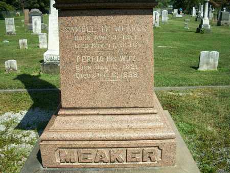 MEAKER, PERLIA - Trumbull County, Ohio | PERLIA MEAKER - Ohio Gravestone Photos