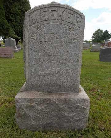 MEEKER, HAZEL V. - Trumbull County, Ohio | HAZEL V. MEEKER - Ohio Gravestone Photos