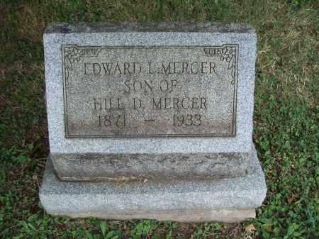 MERCER, EDWARD L. - Trumbull County, Ohio | EDWARD L. MERCER - Ohio Gravestone Photos