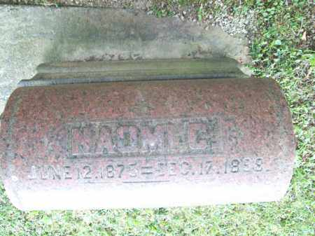 MERCER, NAOMI C. - Trumbull County, Ohio   NAOMI C. MERCER - Ohio Gravestone Photos