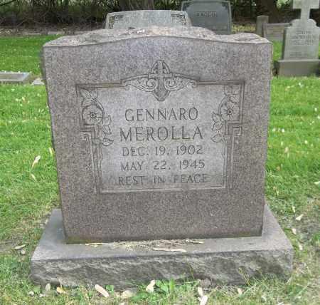 MEROLLA, GENNARO - Trumbull County, Ohio | GENNARO MEROLLA - Ohio Gravestone Photos