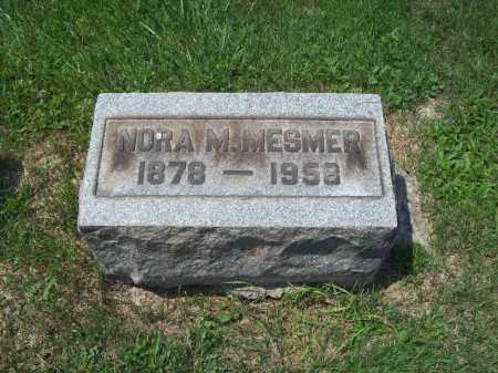 BRONSON MESMER, NORA MAY - Trumbull County, Ohio   NORA MAY BRONSON MESMER - Ohio Gravestone Photos