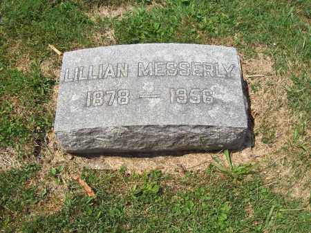MESSERLY, LILLIAN - Trumbull County, Ohio | LILLIAN MESSERLY - Ohio Gravestone Photos