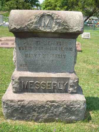 HARDMAN MESSERLY, MARY E. - Trumbull County, Ohio   MARY E. HARDMAN MESSERLY - Ohio Gravestone Photos