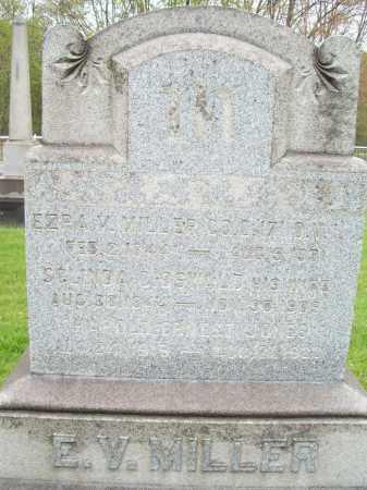 MILLER, EZRA V. - Trumbull County, Ohio | EZRA V. MILLER - Ohio Gravestone Photos